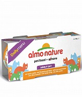 Almo Nature Daily Men� con Tonno e Pollo 2 lattine da 170 g x 12 blister per gatti