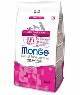 Monge Superpremium Extra Small Adult Pollo per cani