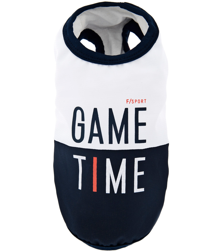 T-shirt-per-cani-Game-time-Fuss-dog