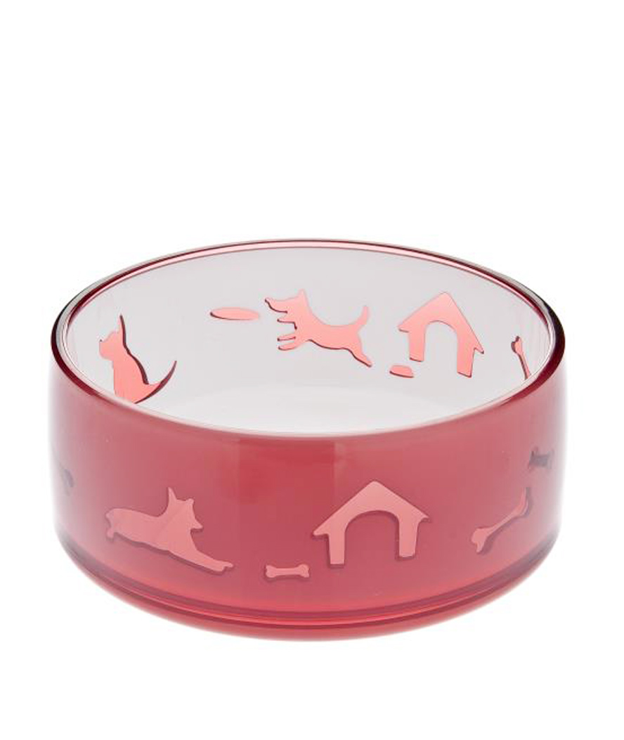 Trustful Bol De Plástico Para Gatos Modelo Duoword Fuss-dog Limpid In Sight Dishes, Feeders & Fountains
