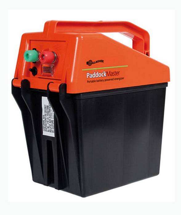 Elettrificatore paddock master portatile recinzioni for Gallagher recinzioni elettriche