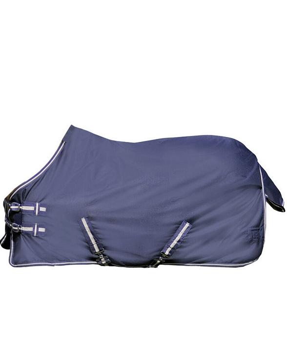 Coperta in pile Economic blu scuro coperta per cavallo. taglia 165 cm