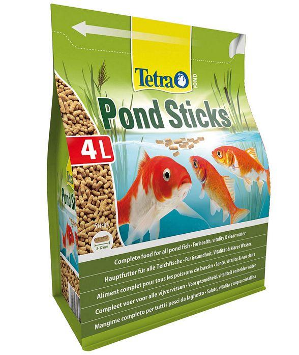 Pond sticks mangime pesci laghetto nonsolocavallo for Pesci da laghetto online