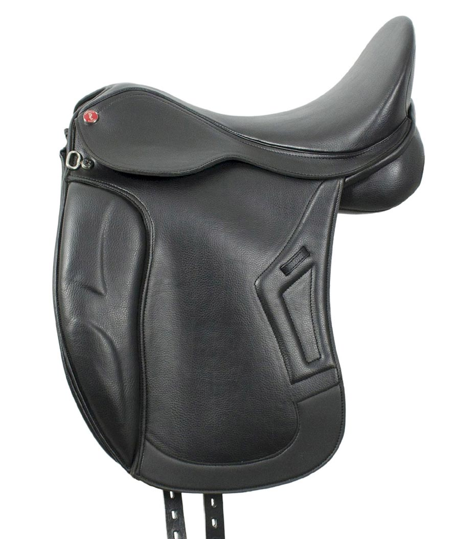 Sella da dressage DLx in in pelle sintetica con archetto intercambiabile ProLig