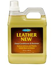 Olio per il trattamento reidratante del cuoio LEATHER NEW DEEP CONDITIONER FARNAM 473 ml