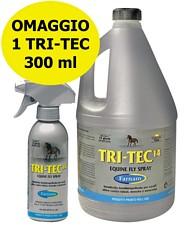 Offerta speciale insettorepellente per cavalli TRI-TEC tanica 3,8 litri con 1 TRI TEC 300 ml OMAGGIO