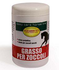 GRASSO PER ZOCCOLI giallo completamente naturale protegge da secchezza e screpolature 1 kg
