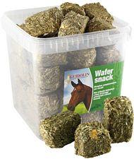 Wafer Snack biscotti foraggio e cerali di campo per cavalli 2,5 kg formato convenienza e richiudibile