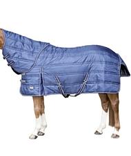 Coperta da box invernale per cavalli imbottitura 200 gr con collo staccabile
