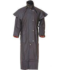 Giacca australiana cerata impermeabile, fodera interna e �mantella anti-pioggia