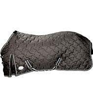 Coperta per cavallo invernale traspirante imbottitura 250g  con cinghie sottopancia e copricoda spacchi laterali e rinforzo sul garrese