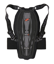 Paraschiena bambino Zandon� per equitazione ESATECH BACK PRO X7 a 7 scocche per la protezione della zona schiena-scapole