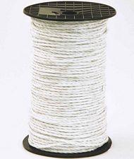 PROMOZIONE Corda per recinzioni elettriche 5 mm con 6 conduttori acciaio inox da 0,20mm rotolo da 200m