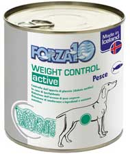 Forza 10 Weight Control Actiwet pesce per cani 300g