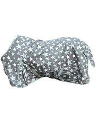 coperta da paddock impermeabile con interni in pile modello stars