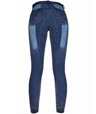 Pantaloni Jeggings equitazione Flower Crystal