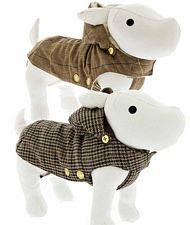 cappotto Trench cani interno peluches
