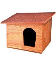Cuccia esterno legno chalet cane nonsolocavallo cibo e for Cuccia in vetroresina