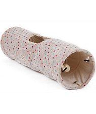 Cuccia a Tunnel in morbido pellicciotto linea Soft con gioco pallina per  cani e gatti - 82973bb17665