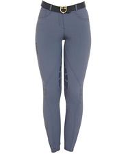 Pantaloni per equitazione da donna modello Clio in tessuto elasticizzato e anatomico con gel antiscivolo