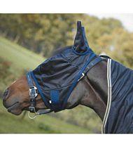coperta rete antimosche cavalli maschera abbinata - nonsolocavallo