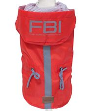 Impermeabile cani VANCOUVER FBI RED