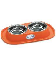 Dishes, Feeders & Fountains Ciotola Doppia Con Amore Con Antiscivolo E Antiformiche Per Cani E Gatti Record Pet Supplies